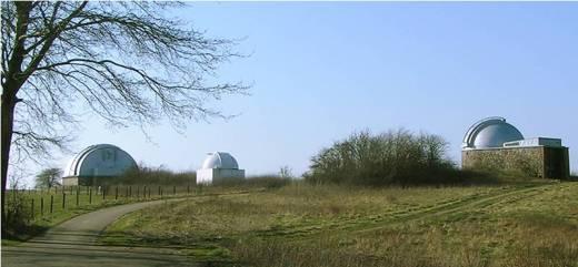 Observatoriet i Brorfelde afløste Østervold-observatoriet.